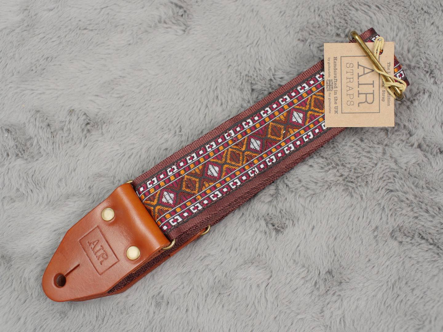 Air Straps Limited Edition 'Mohawk' Guitar Strap - Free Shipping!