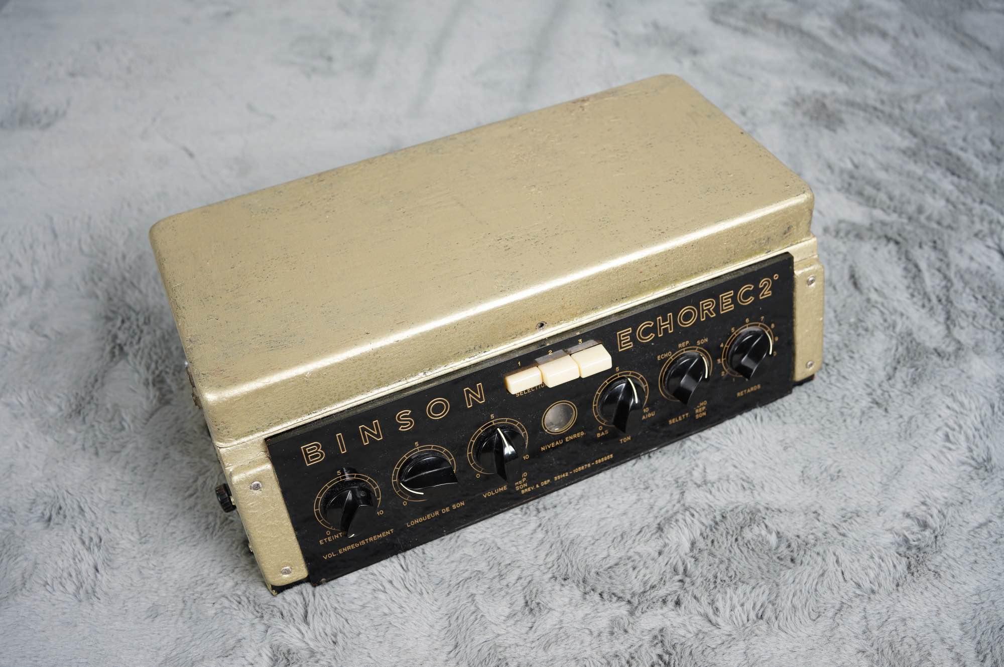 Early 60's Binson Echorec 2 T7E - Dan Coggins serviced