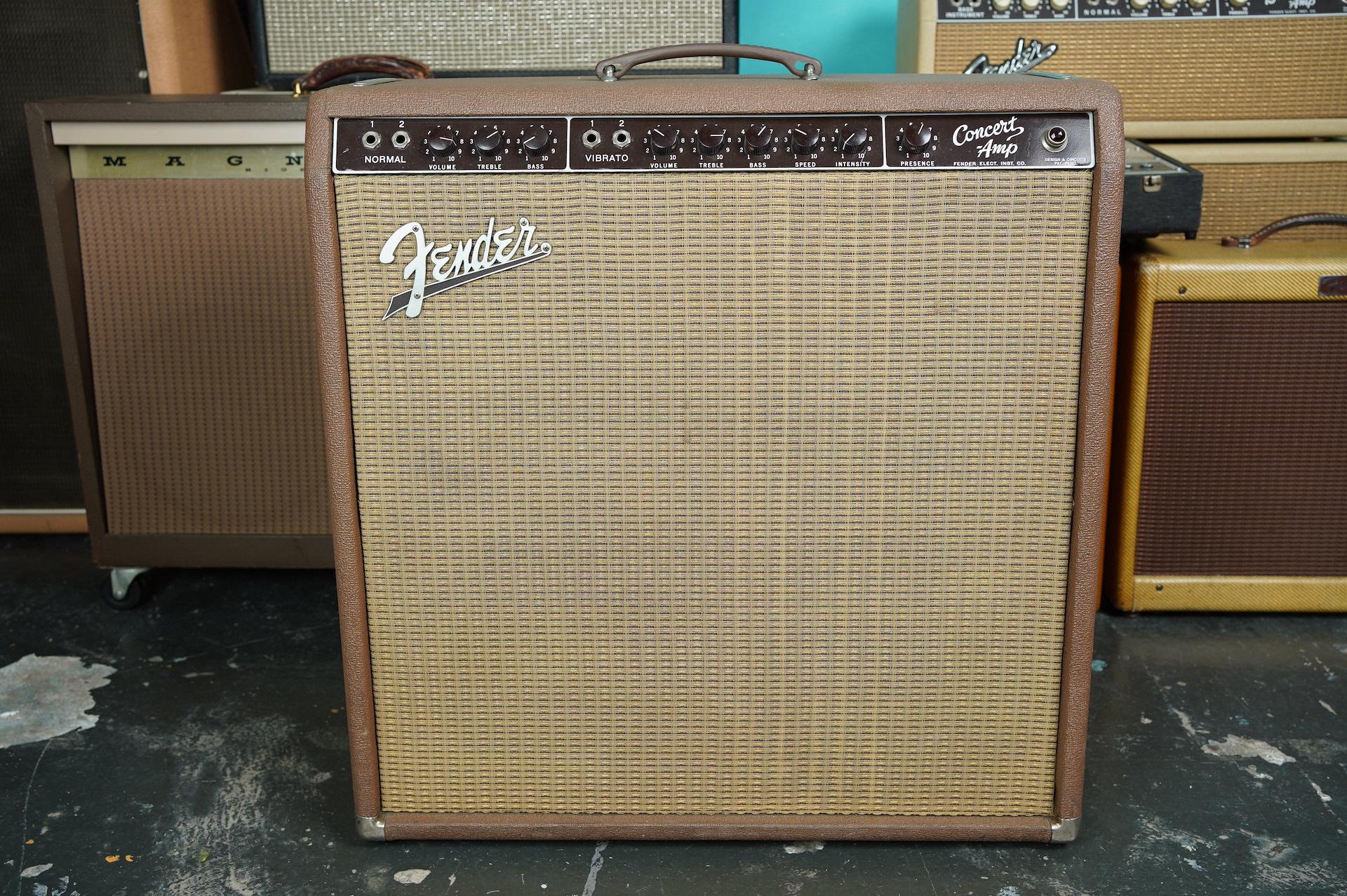 1962 Fender Concert Amp