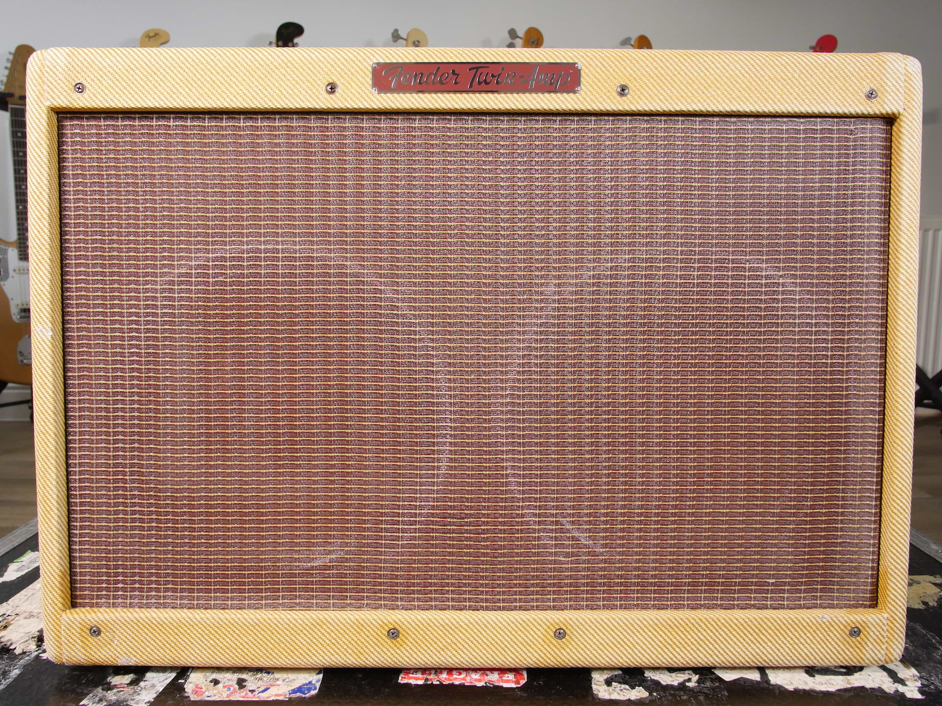 2018 '59 Fender High Powered Twin Amp Joe Bonamassa Edition