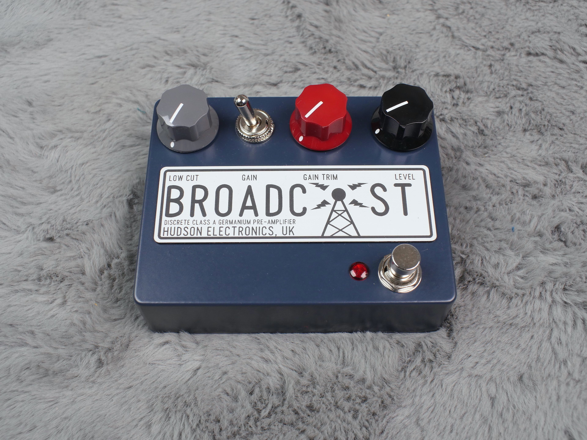 Hudson Broadcast Class-A Germanium Preamp Pedal