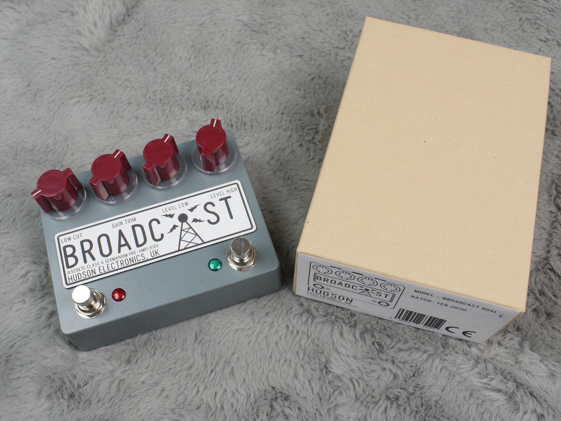 Hudson Electronics Broadcast - Dual Foot Switch - Brand New! - Free Shipping!