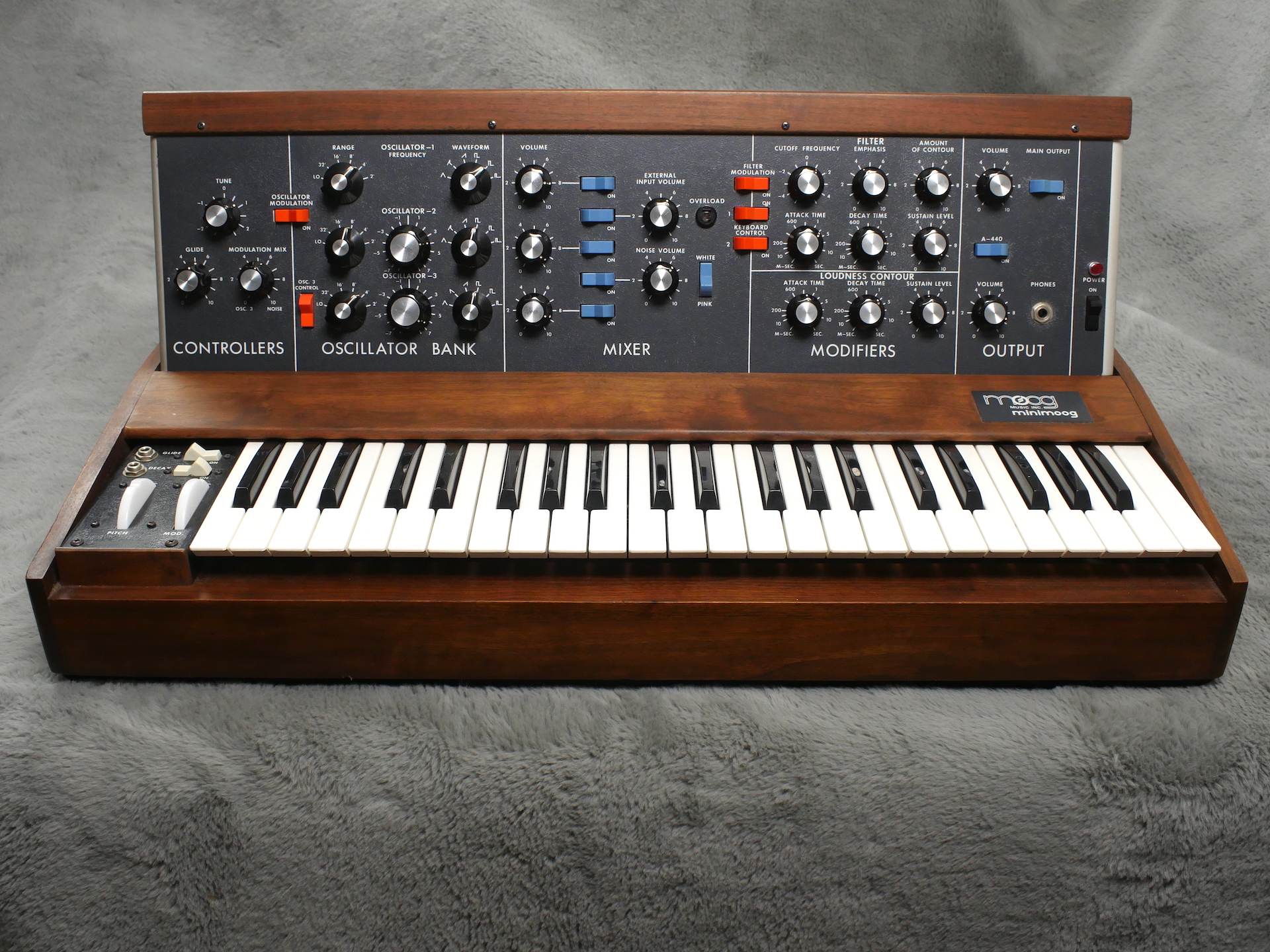 1973 (circa) Moog Mini Moog Model D - Near MINT!