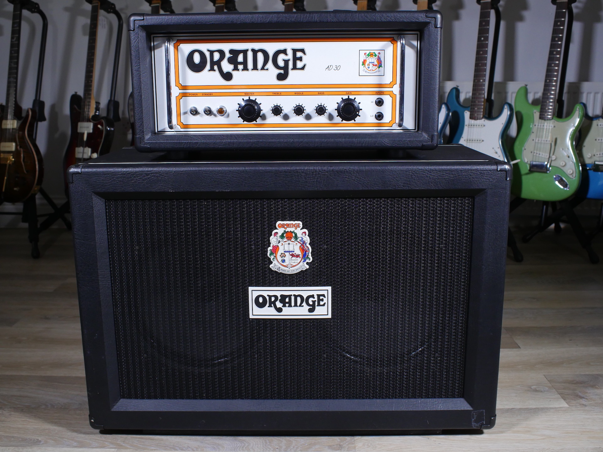 2002 Orange AD30 and PPC212 Cab in Black and Orange!