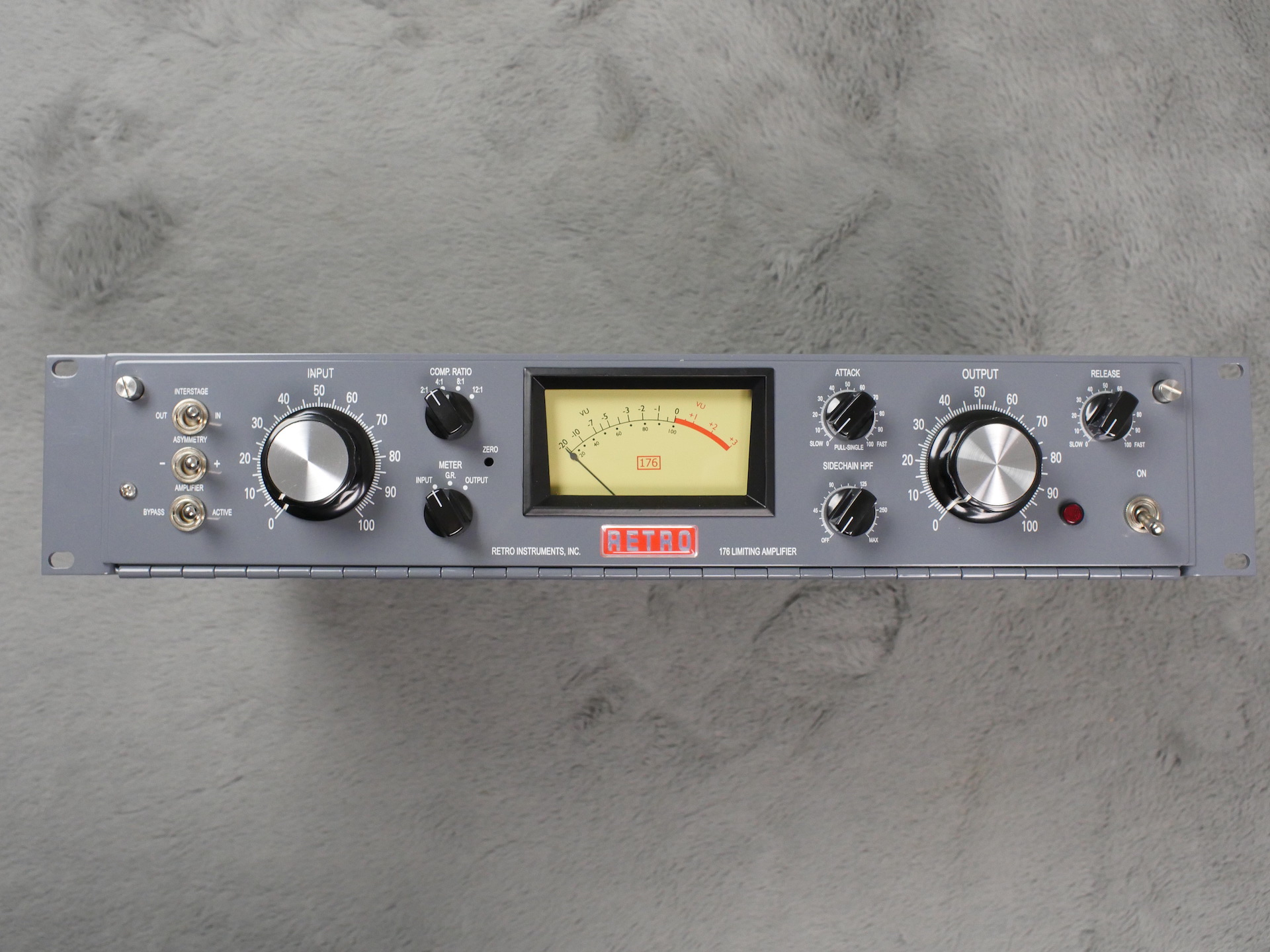 Retro Instruments 176 compressor limiter S/N 1210 - MINT and Boxed!