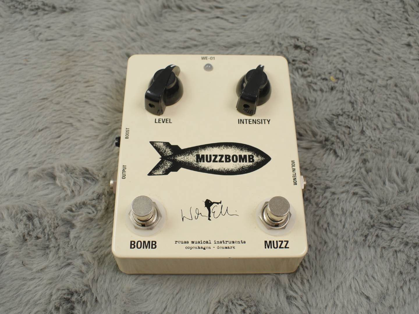 2016 Reuss Musical Instruments WE-01 'Muzzbomb'