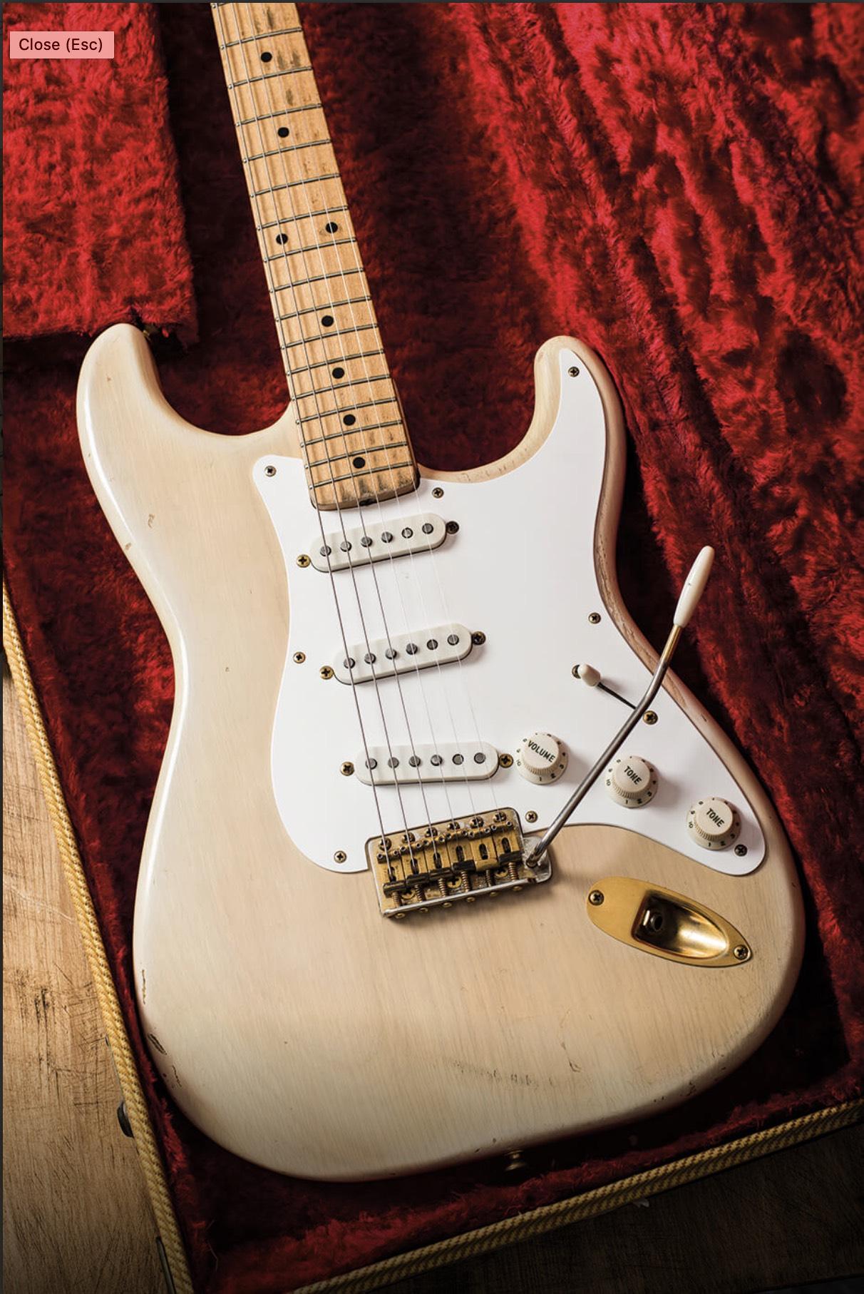 1957 Fender 'Mary Kaye' Stratocaster