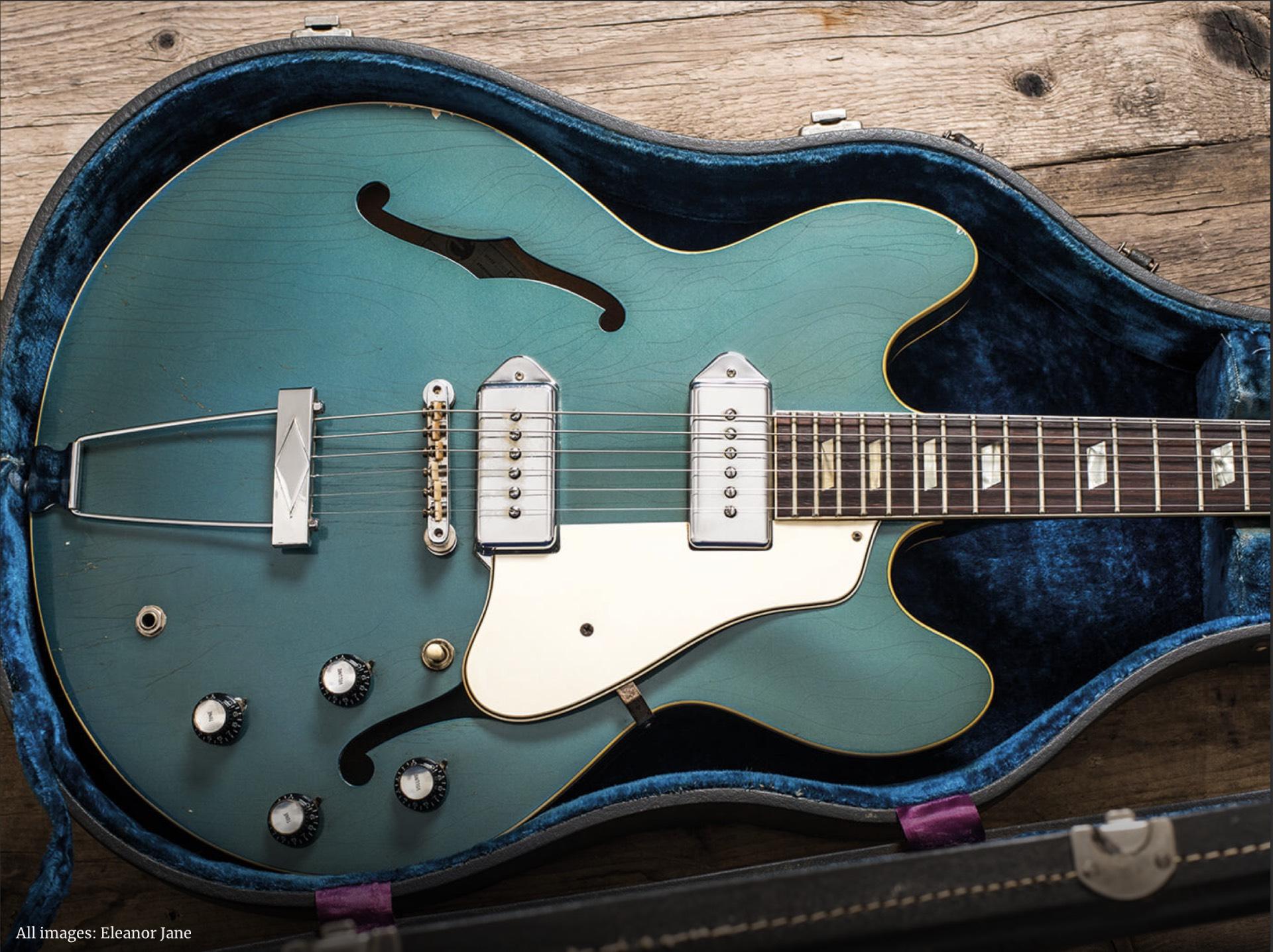 1967 Epiphone Casino Pelham Blue