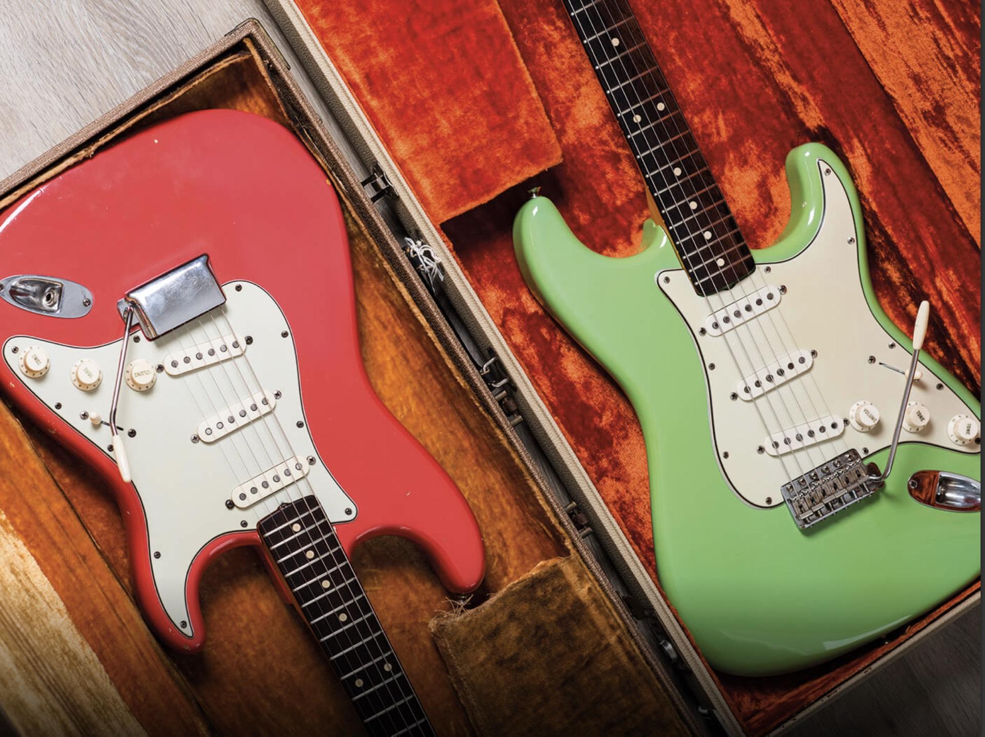 1961 & 1963 Fender Stratocaster