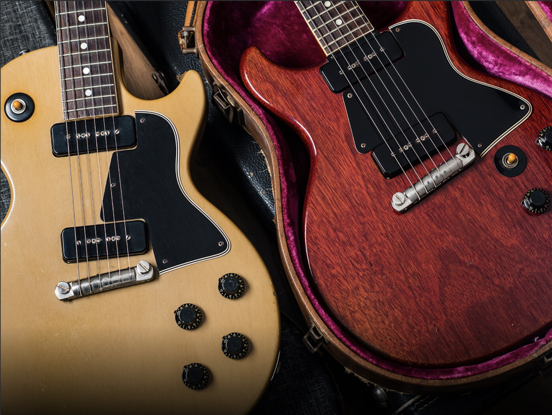 1958 and 1959 Gibson Les Paul Special