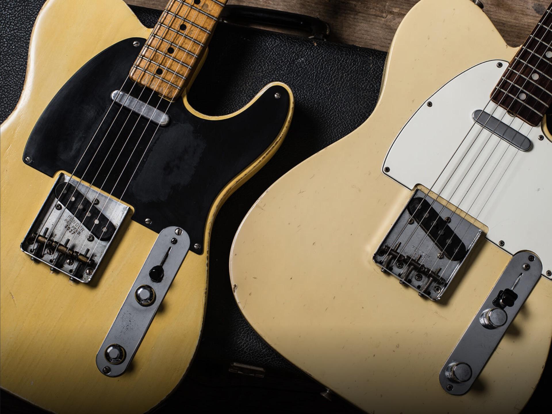 1952 &1968 Fender Telecasters