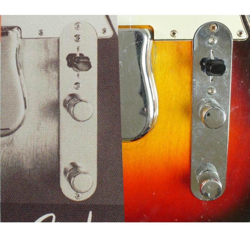 Tele detail control plate