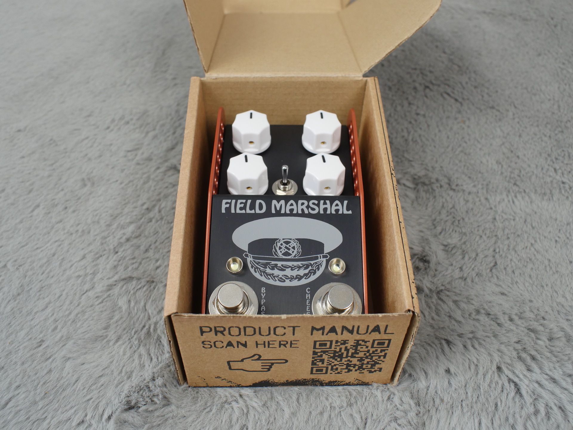 Thorpy FX The Field Marshall Fuzz Pedal