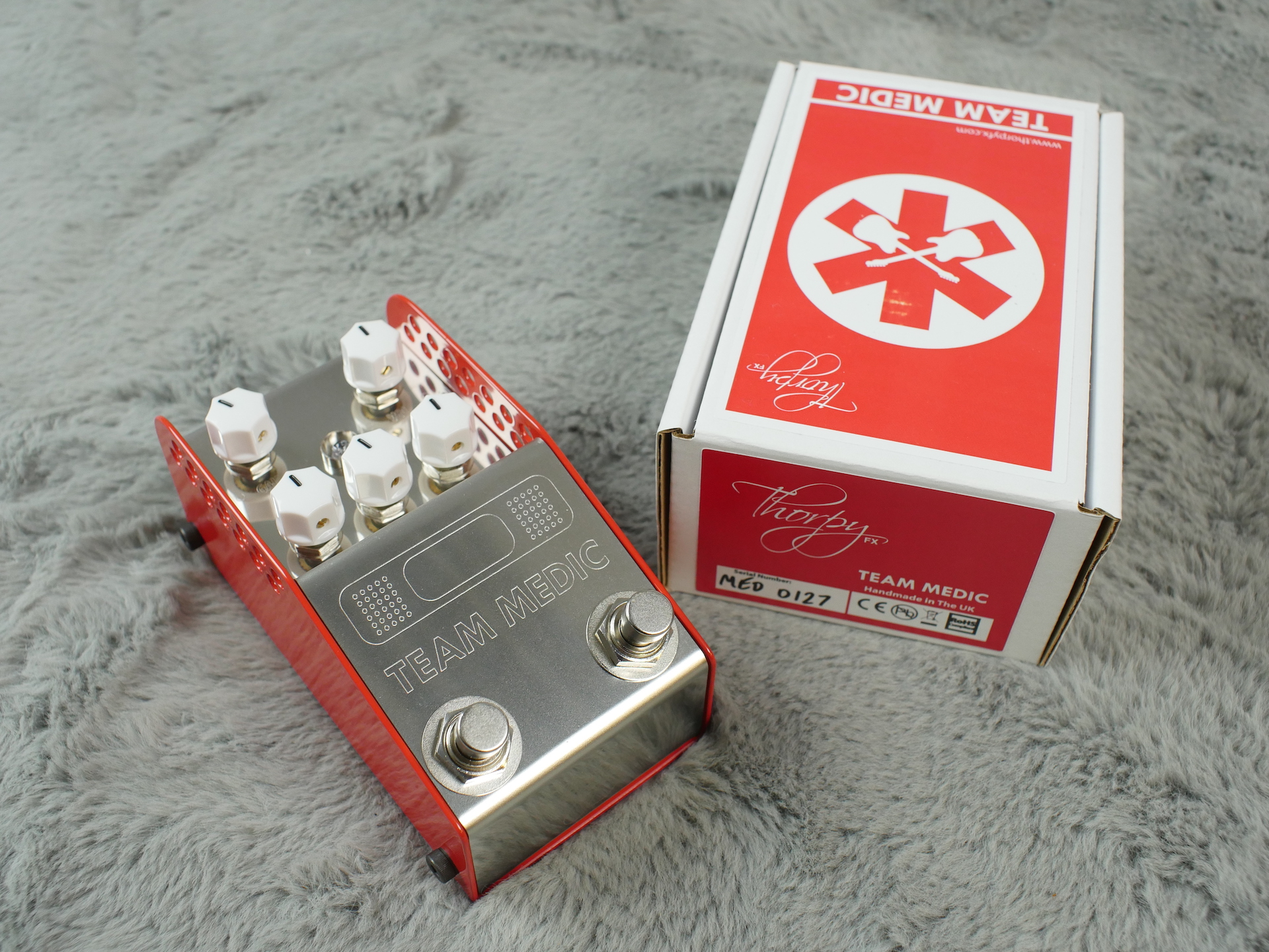 ThorpyFX Team Medic Buffer, EQ, Boost and Boost + Pedal